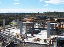 Quadrant 3 Level 2 Formwork and scoffolding for level 3 111010